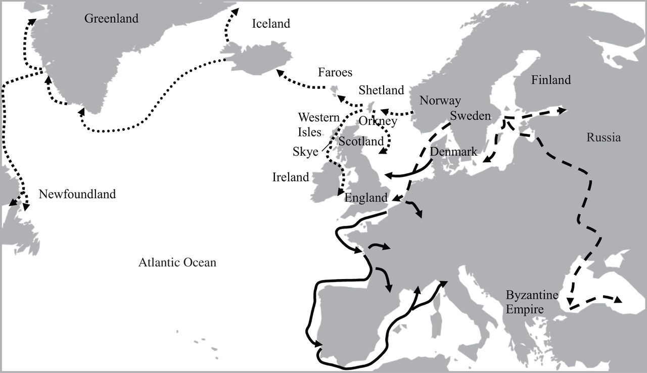 Mitochondrial DNA variation in the Viking age population of Norway