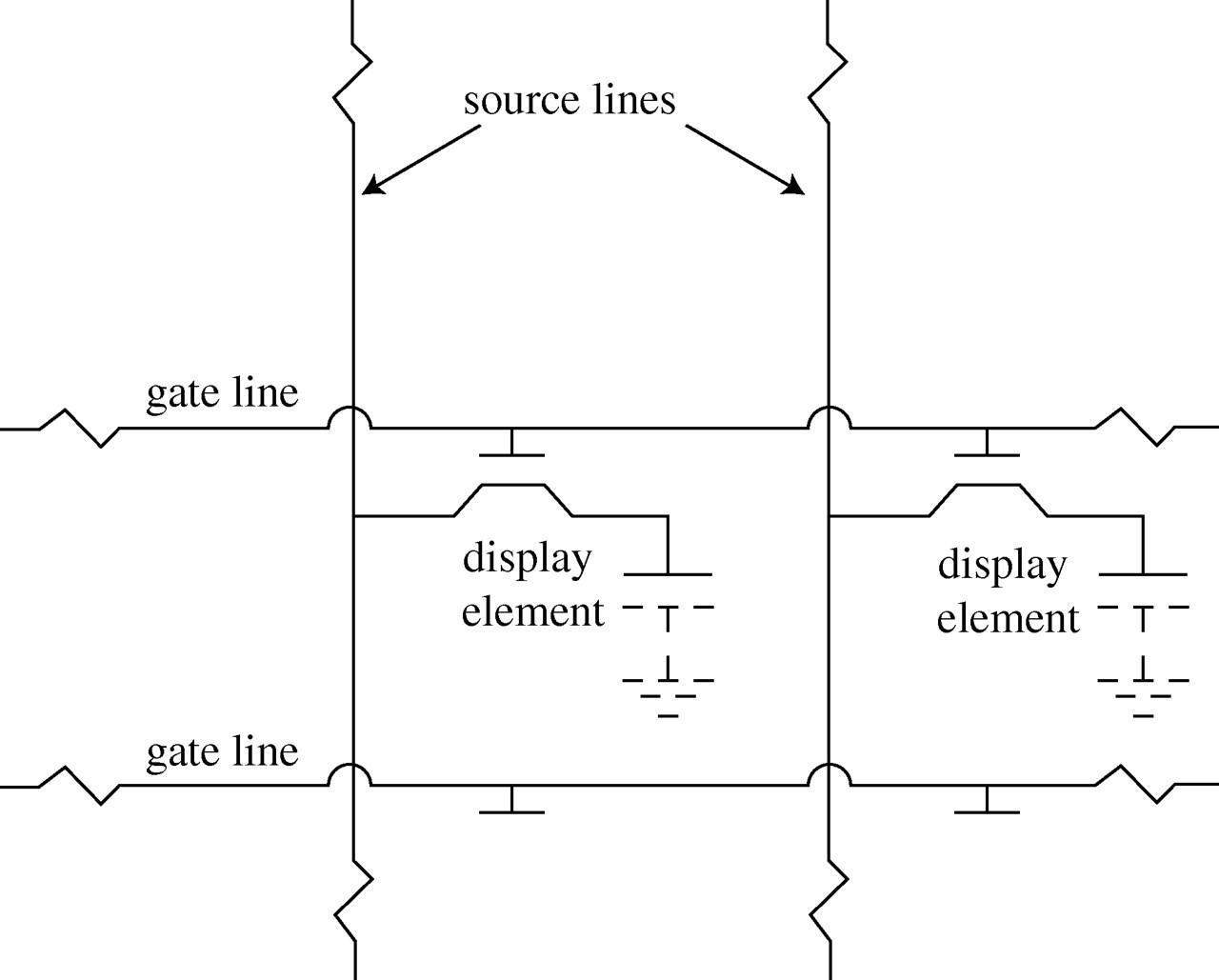 Flat Panel Electronic Displays A Triumph Of Physics Chemistry And Use The Form Below To Delete This Crt Monitor Diagram Wars Schematic Download Figure