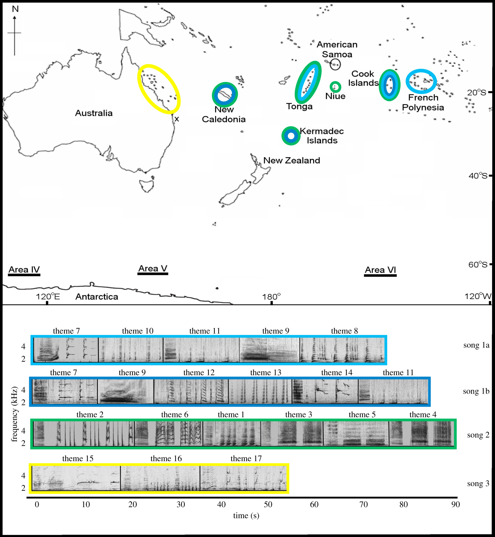 Migratory convergence facilitates cultural transmission of
