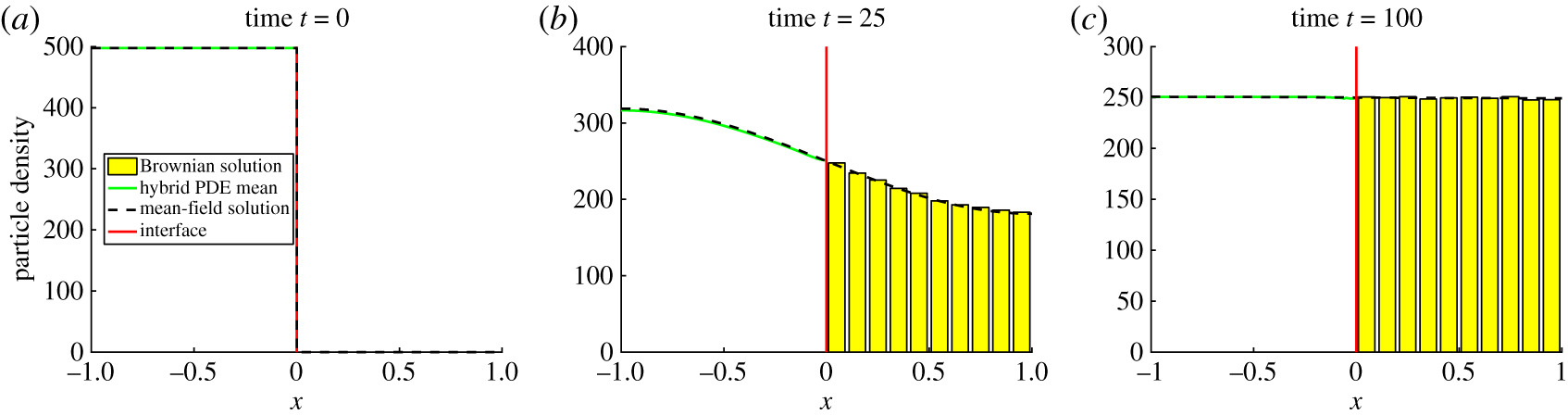 The auxiliary region method: a hybrid method for coupling