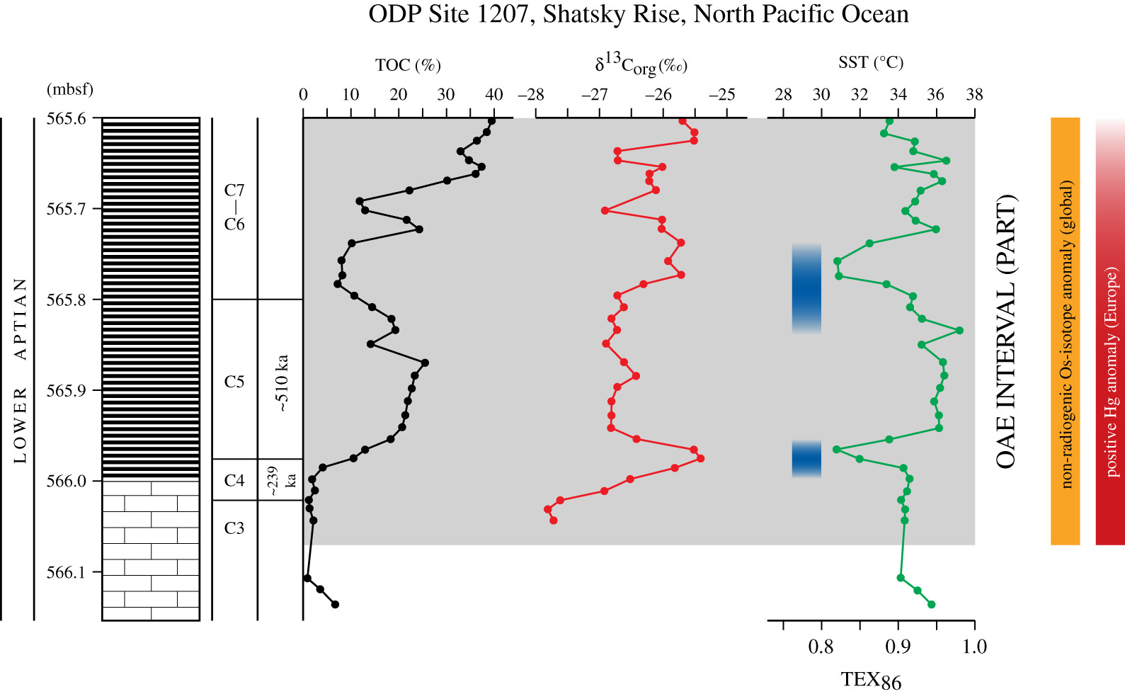 Transient cooling episodes during Cretaceous Oceanic Anoxic