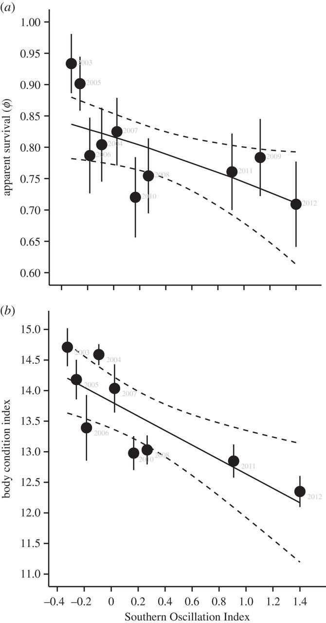 Climate, demography and lek stability in an Amazonian bird