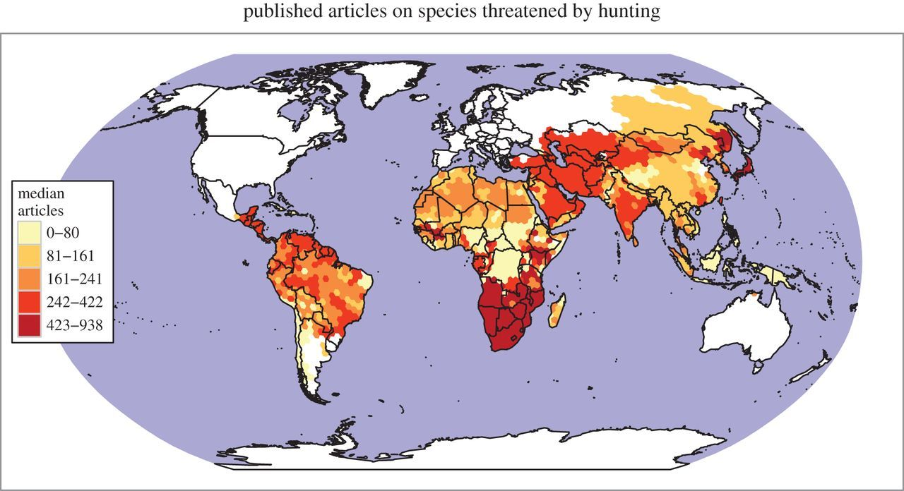 Bushmeat hunting and extinction risk to the world's mammals