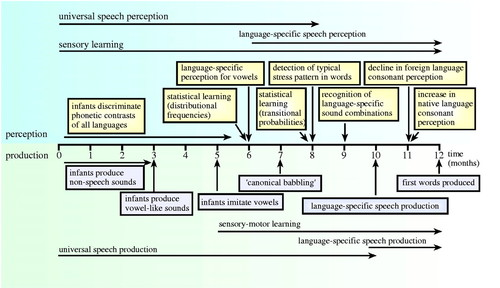 Phonetic learning as a pathway to language: new data and