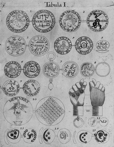 Magic coins' and 'magic squares': the discovery of