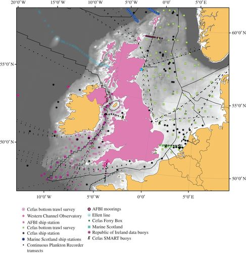 Sustained UK marine observations  Where have we been? Where are we