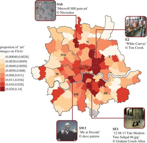 Quantifying the link between art and property prices in