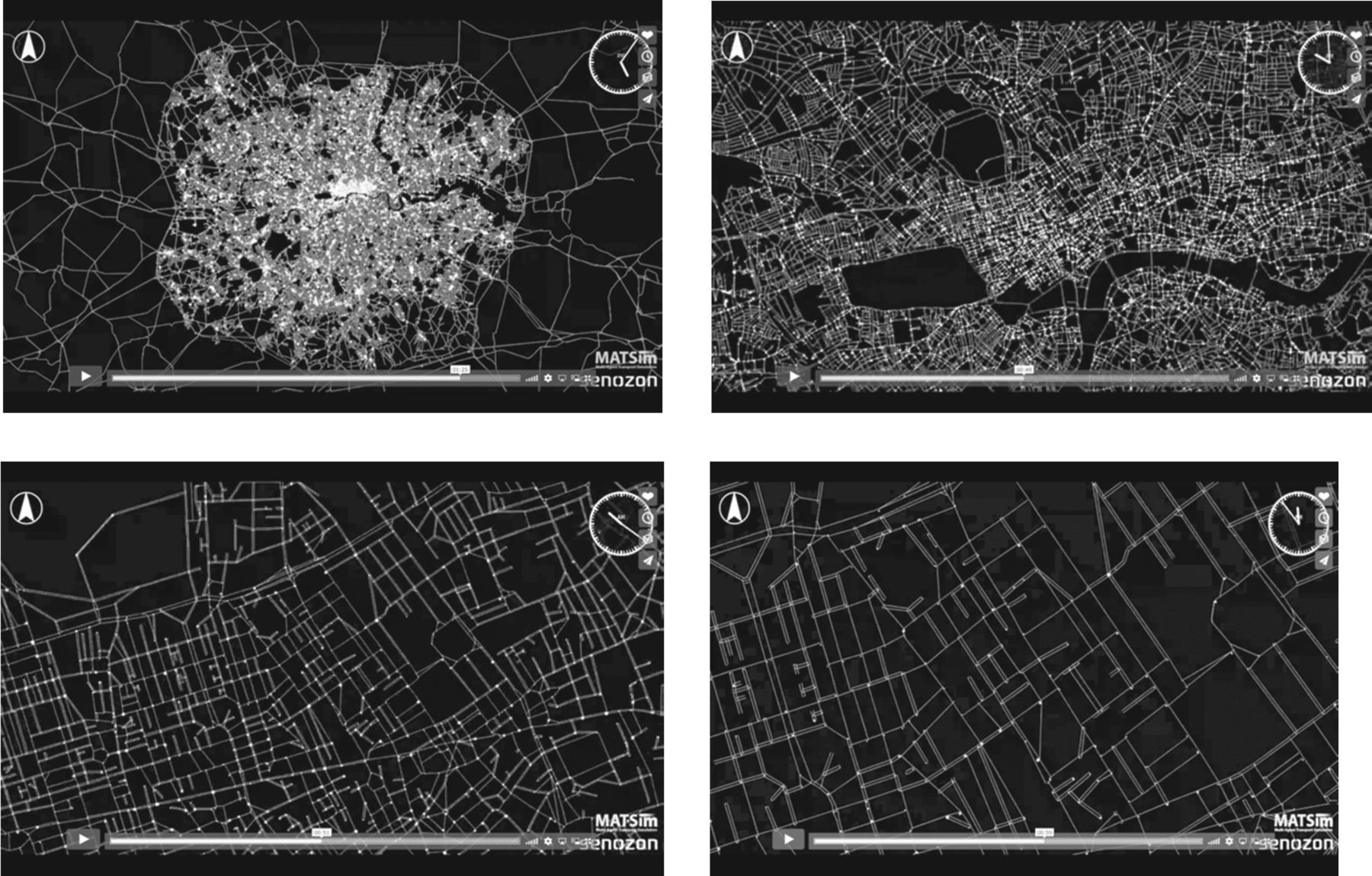 Visualizing aggregate movement in cities | Philosophical