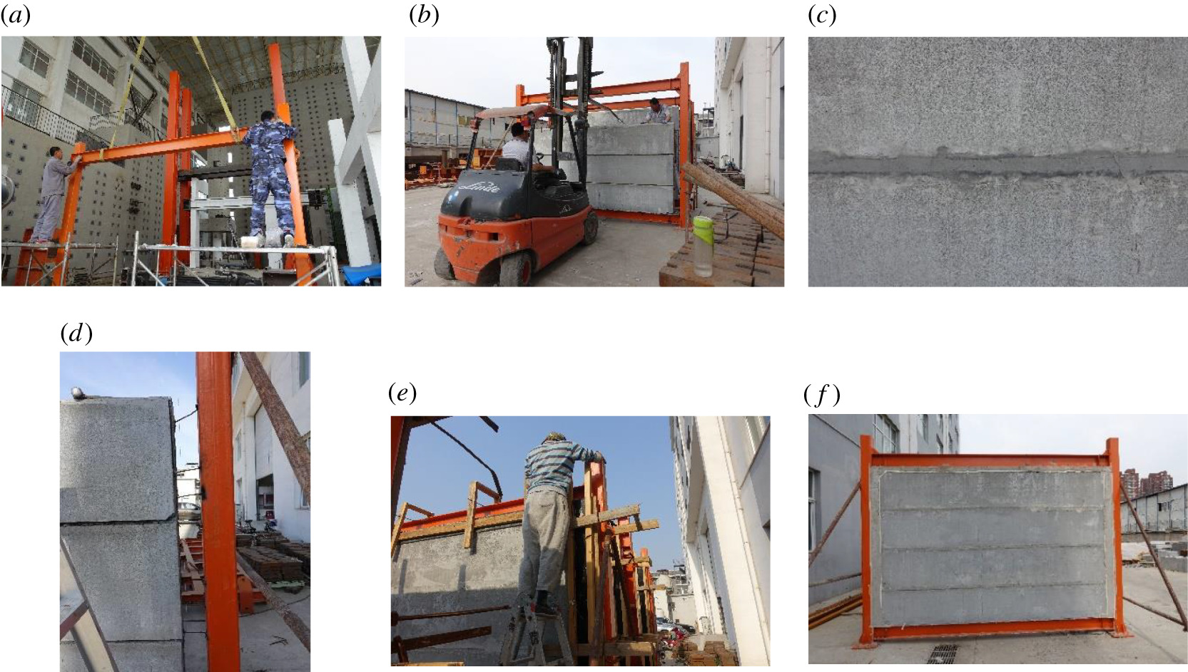 Experimental study on seismic performance of a low-energy