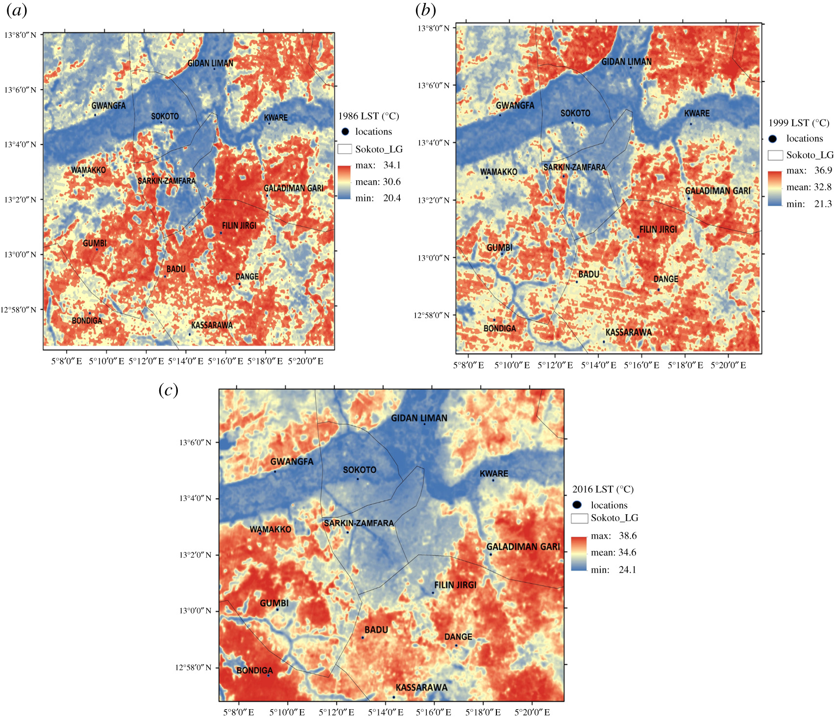 Spatio-temporal analysis of land use dynamics and its potential