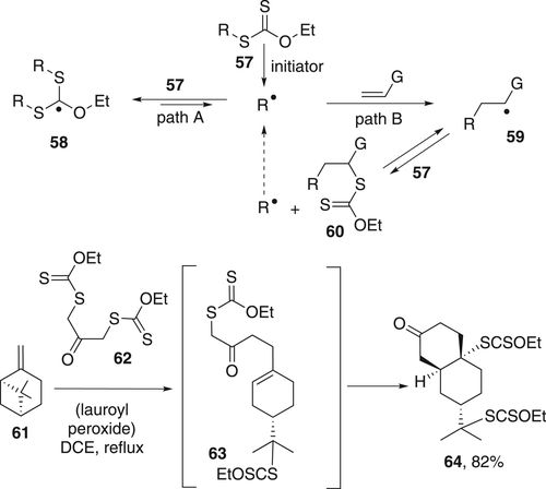 Some aspects of radical cascade and relay reactions   Proceedings of