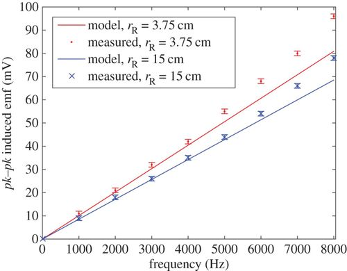 A physical model for low-frequency electromagnetic induction