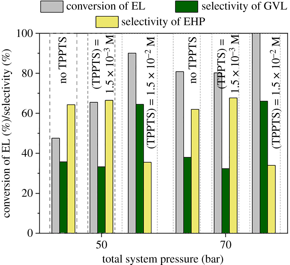 Continuous flow hydrogenation of methyl and ethyl levulinate: an