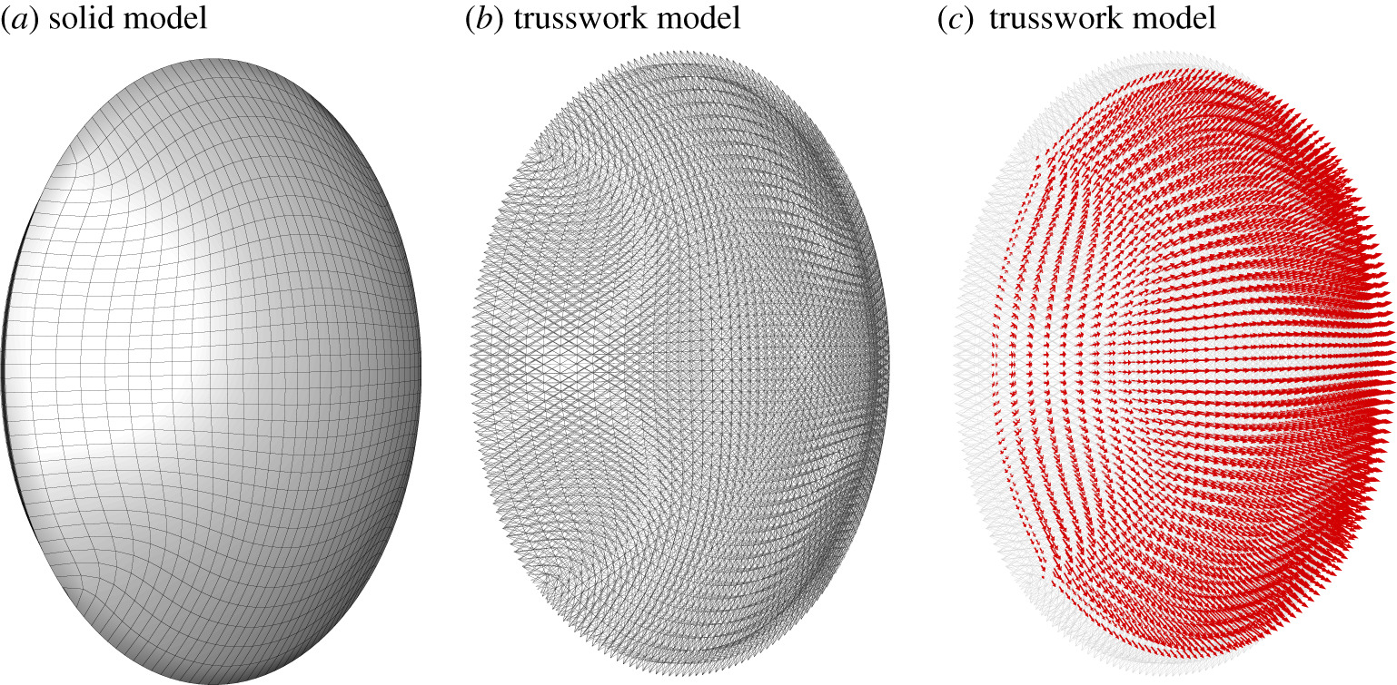 A microstructural model of cross-link interaction between collagen