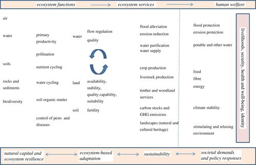 Assessing climate change risks to the natural environment to