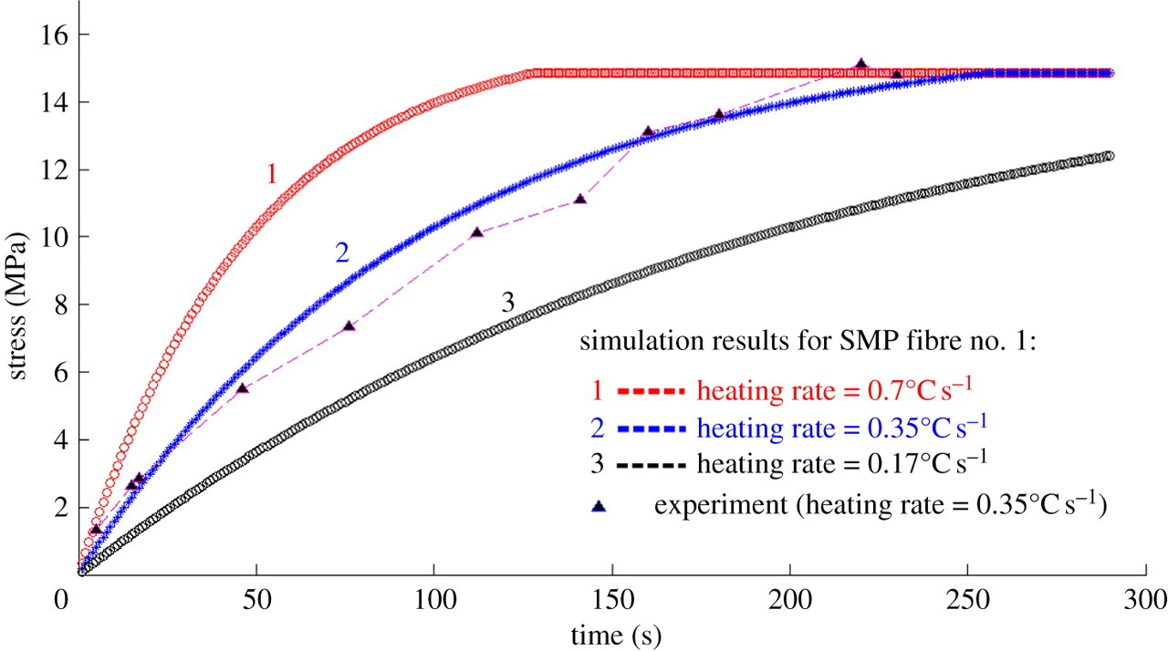 A viscoplastic theory of shape memory polymer fibres with