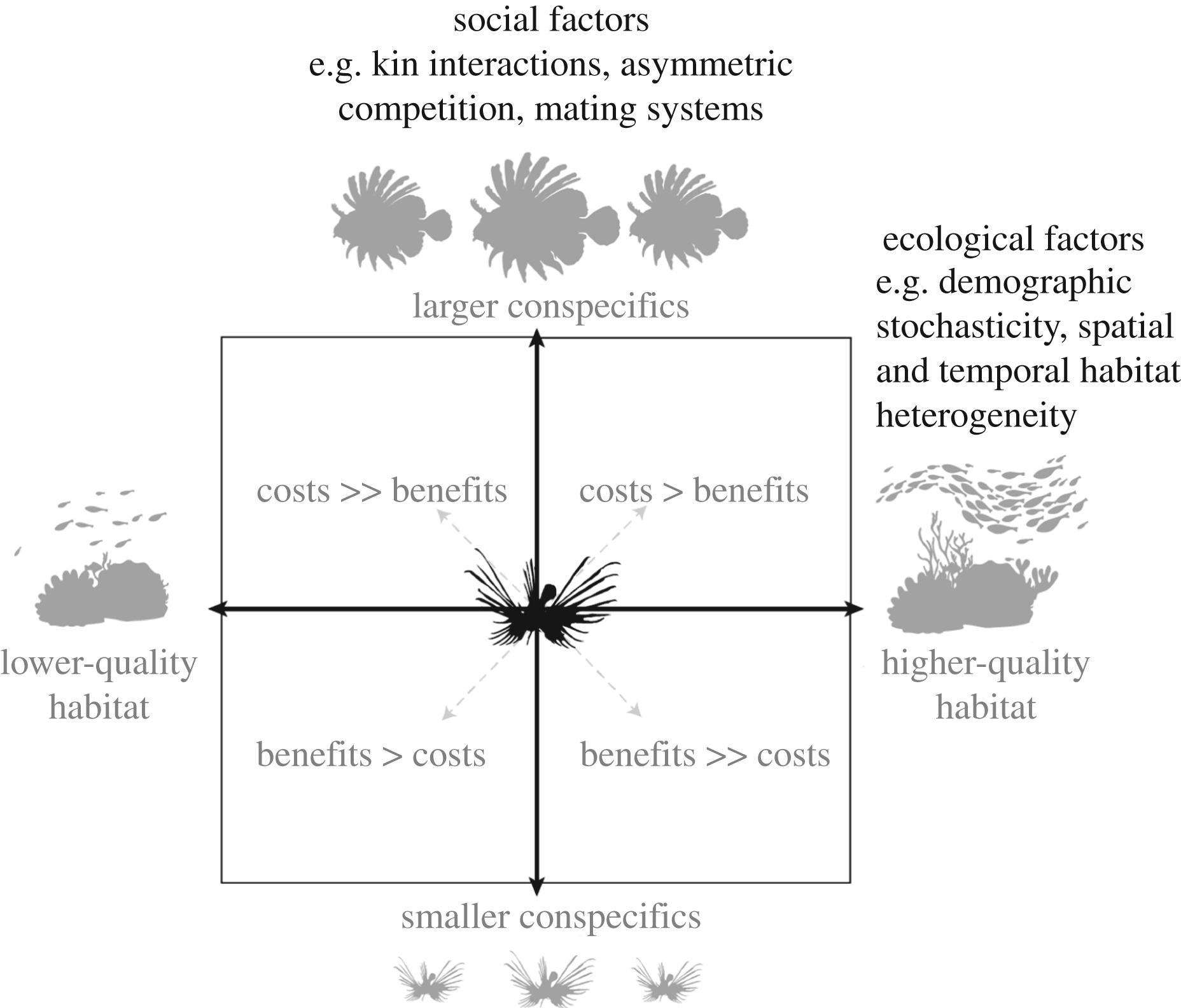 From individual movement behaviour to landscape-scale