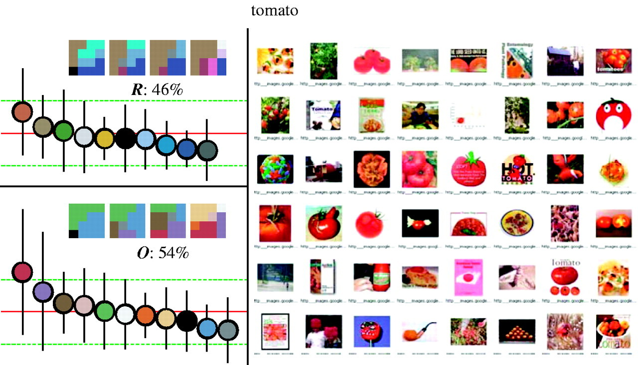 Optimality of the basic colour categories for classification