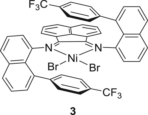 Nn Chelated Nickel Catalysts For Highly Branched Polyolefin
